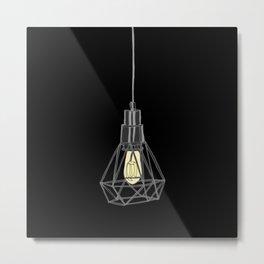 Light in a Dark Place Metal Print