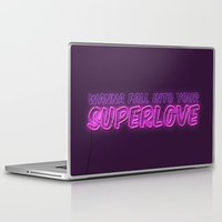 charli xcx Laptop & iPad Skins featuring SuperLove / Charli XCX by Justified