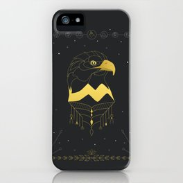Golden Bald Eagle iPhone Case