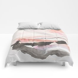 Day 25: The natural beauty of one thing leading to another. Comforters