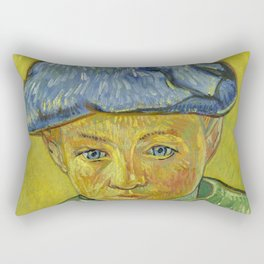 "Vincent van Gogh ""Portrait of Camille Roulin"" Rectangular Pillow"