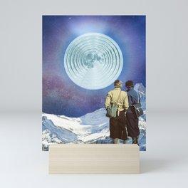 Have you seen the Moon last night? Mini Art Print