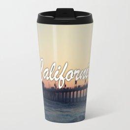 California Beach Travel Mug