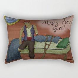 Oh Captain my Captain! Rectangular Pillow