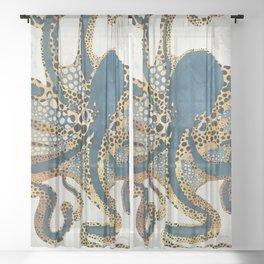 Underwater Dream VI Sheer Curtain