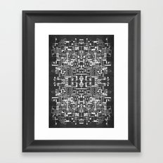Sprawl 200113 Framed Art Print