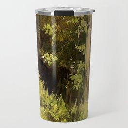 Woodland Landscape Nature Art Travel Mug