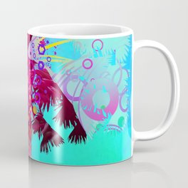 Palm Flamingo Coffee Mug
