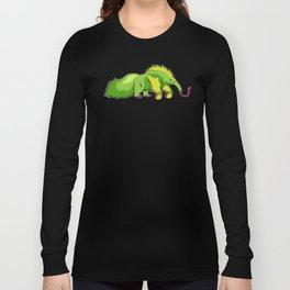 Neon Giant Anteater Long Sleeve T-shirt