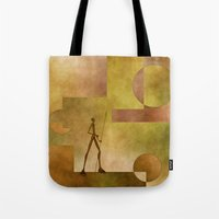 african Tote Bags featuring African by gabiw Art