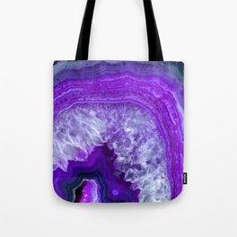 purple stone Tote Bag