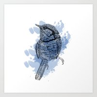 One Little Bird Art Print