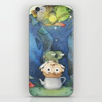 over the garden wall iPhone & iPod Skins featuring Over the Garden Wall by zaMp