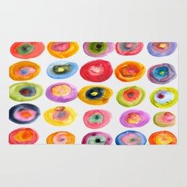 Color Rings Rug