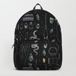 Plus and Minus - Illustration Backpack