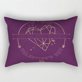 F*CK Valentine's Day Rectangular Pillow