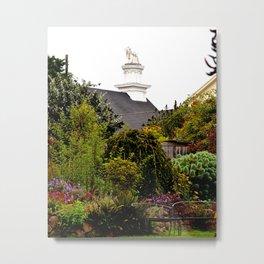 mendocino garden Metal Print