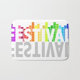 Festival Summer Bath Mat