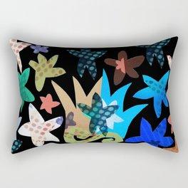 FLOWER MASH 2 Rectangular Pillow
