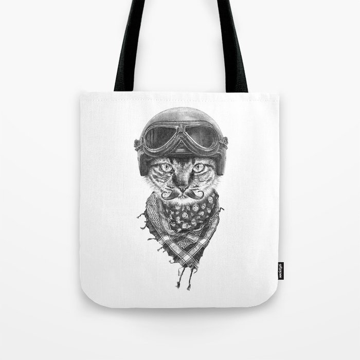 Don't Pussy Me Tote Bag