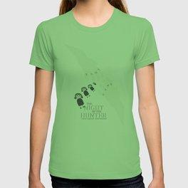 the night of the hunter, minimalist movie poster, Charles Laughton, Robert Mitchum, film wall art T-shirt