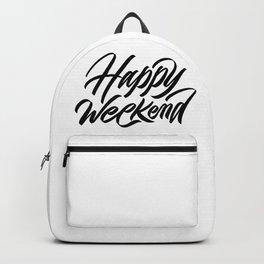 Happy weekend, weekenders! Backpack