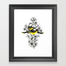 Couple of Birds Framed Art Print