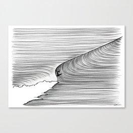 Backhand Gliding Canvas Print