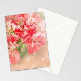 Pelargonium . Morning. Stationery Cards
