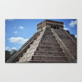 El Castillo (2) Canvas Print