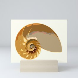 Shell color Mini Art Print
