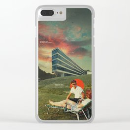 Remember When Clear iPhone Case
