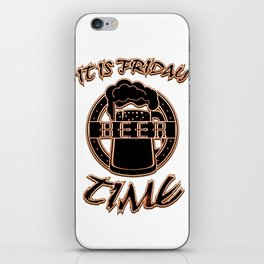 beer - I love beer iPhone Skin