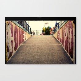 Under the Wheel Canvas Print
