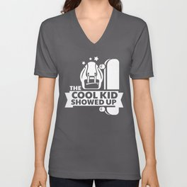 The Cool Kid Showed Up Unisex V-Neck