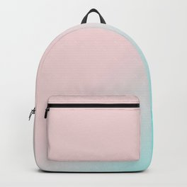 Simply Pink & Teal Color Gradient - Mix And Match With Simplicity of Life Backpack
