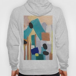 Dusty Quartz Abstract Hoody