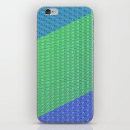 Folded pattern iPhone Skin