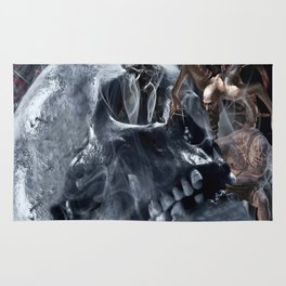 Skull resident Rug