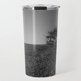 Loneliness in the desert Travel Mug