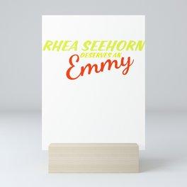Rhea Seehorn Deserves an Emmy Mini Art Print