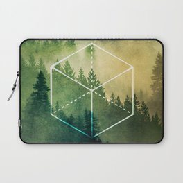 The Elements Geometric Nature Element of Earth Laptop Sleeve