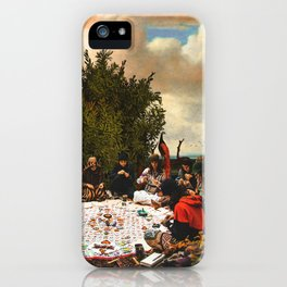The gathering iPhone Case