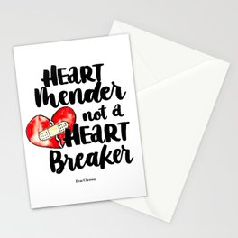 Heart Mender not a Heart Breaker Stationery Cards