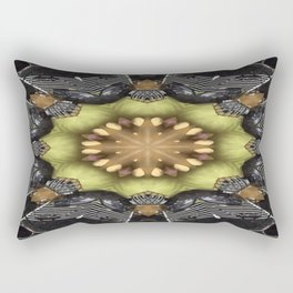 Paramilitary Tryst Mandala 5 Rectangular Pillow