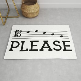 Decaf please (tenor version) Rug
