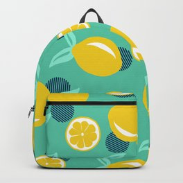 Lemon dots #society6 #decor #buyart Backpack