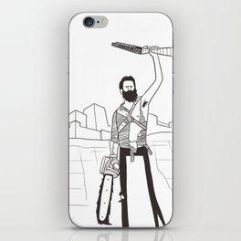 Hail to the Beard, baby iPhone Skin