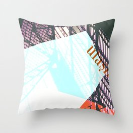 Story of the Roads - 1 Throw Pillow