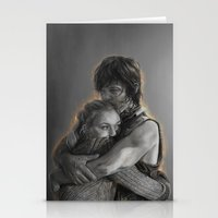 beth hoeckel Stationery Cards featuring Beth & Daryl - when I'm gone by Nikita Jobson